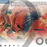 """""""900 italiano"""", CD-Rom. Cliente: BAICR, Biblioteche e archivi degli istituti culturali di Roma. Progetto editoriale, cura dei contenuti, regia multimediale, progetto grafico. Direttore: Fabrizio M. Rossi. 2000-2002. Pagina principale."""