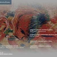 """""""900 italiano"""", CD-Rom. Cliente: BAICR, Biblioteche e archivi degli istituti culturali di Roma. Progetto editoriale, cura dei contenuti, regia multimediale, progetto grafico. Direttore: Fabrizio M. Rossi. 2000-2002. Crediti."""